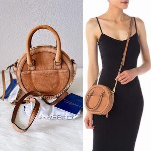 ✨New REBECCA MINKOFF Bree Circle Crossbody Handbag